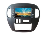 Car navigation dvd one piece machine gps bluetooth radio hd digital screen antecessor