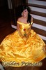 bell Golden Princess funny dress free shipping fairy tale dress