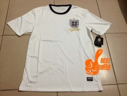 Wholesale Top Thaialand quality Player version 2013/14 England Jersey soccer away Shirt Free shipping White Custom name number(China (Mainland))