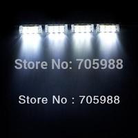 4*3 LED Emergency moto Vehicle Boat Truck Car Strobe Lights flash light white red green blue amber