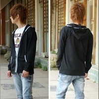 2013 spring coat long-sleeve male personality slim casual sweatshirt outerwear 602