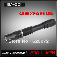 JETBeam BA20 Cree XP-G R5 2 Modes AA Flashlight 270 Lumen Torch