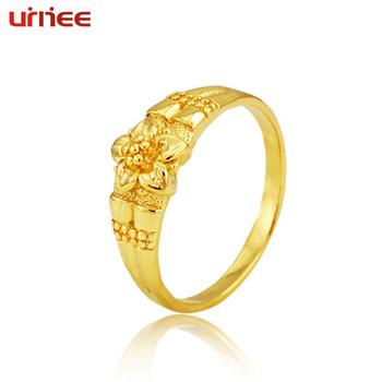 Cheap Meters 2012 flower gold ring women's vintage finger ring pinky ring