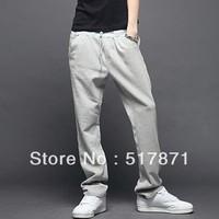 free shipping Men's clothing 2013 trousers men's harem pants keep calm sports pants men novelty  running trousers men casual