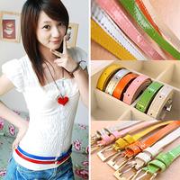 BE005 Wholesale Dress Decoration Fashion Patent PU Leather Belt Supplier Free Shipping