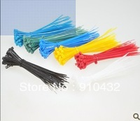 """1000pcs 4"""" inch 100mm X 2.5mm Cable Wire Zip Ties/ Self Locking Nylon Cable tie white blue red yellow green 5 colors"""