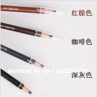 4pcs/lot  Waterproof  Eyebrow Pencil Pen Makeup Cosmetic Eyebrow Pencil/4colours /free shipping