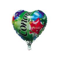 Free shipping100pcs/lot foil balloon,congraduation balloon party balloon