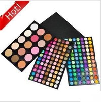 Wholesale Free Shipping New 183 Color Combo Makeup Palette Set 168 Eyeshadow 15 colours blush