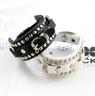 75070 accessories basic rivets buckle bracelet jewelry (can mix order)(China (Mainland))