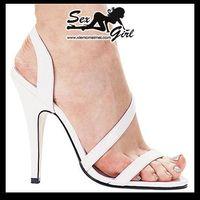 Sexy High-Heeled Sandals  12cm Open Toe Sandal Woman Sandals Big Size Shoe