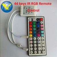 Led Remote Temperature Free Shipping 12V 44keys For RGB SMD 5050 3528 Strip Light CE RoHS Free Shipping