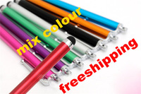 Stylus Touch Screen Metal Pen for Apple IPhone 3G 3GS 4S 4 4G Ipad 2 New Cellphone Pad Tablet PC 3000pcs/lot free dhl shipping