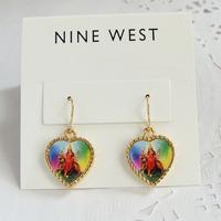 2014 Direct Selling Sale Trendy Brinco Brincos Earrings for Women Accessories Fashion Crystal Gem C33 Earrings Earring Pattern