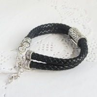 2014 New Arrival Time-limited Women Pulseiras From India Bangles Fashion Leather Cord Genuine Buckle Bracelet C36 Accessories