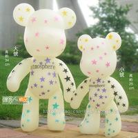 Popobe violence bear momo bear vinyl doll hand-done model doll birthday
