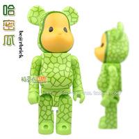 Blocks bear vinyl bearbrick toy doll dolls fruit cantaloupes series
