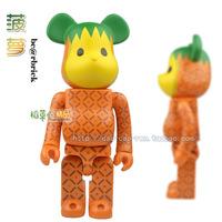Deluxe Edition Blocks Violence Bear Momo Bear Fruit Doll Dolls Pineapple