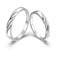Italina unique 2013 New fashion elegant love of  life 925 sterling silver whorl couple rings men women Kedol-SL17