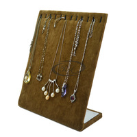 Quality pendant necklace display rack senior coffee velvet necklace l plate pendant no . 22
