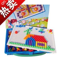 Free shipping Child gift qiaoqiao nail mushroom nail 700mm building blocks puzzle educational toys 0.66