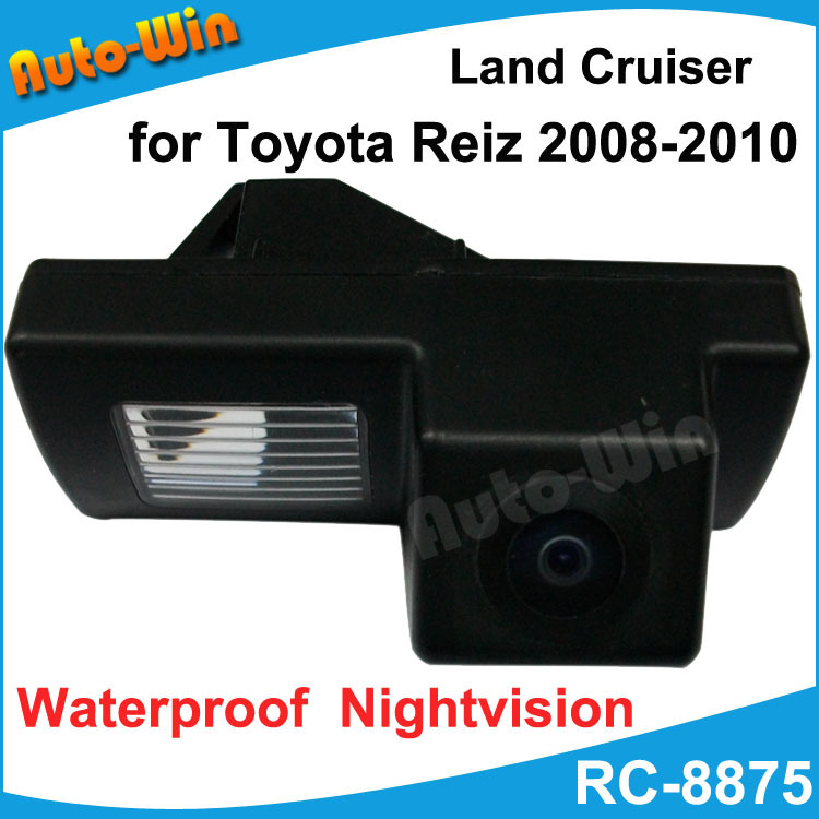 High Quality HCCD rearview camera for Toyota reiz 2008-2010 parking camera with 170 Degree Lens Angle Night Vision waterproof(China (Mainland))