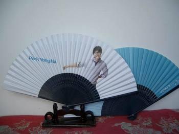 Folding fan star fan  2pcs/lot