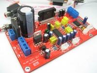Audio encoding adjustable tda7388 car audio car amplifier finished board