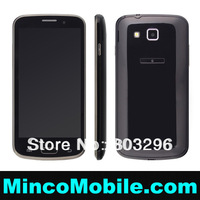 "4.6""  Touch Screen Quad Band Dual SIM Card S3 I9300 9500 I9260 TV WIFI Mobile Phone Russian / Polish language"