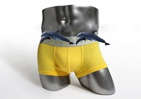 10 Colors Men's Cotton Sexy Underwear Boxer Shorts For Man,Free Shipping,M,L,XL,,With Individual Bag Package,10pcs/Lot