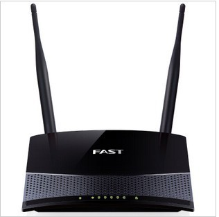 Fast Fw300r 300M Wireless Router wifi Double Aerials 2.4GHZ Free Shipping