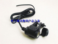 1 mountain bike motorcycle handlebar cigarette lighter refit power socket fitted mount