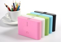 2 color With retail packaging 2 usb port  20000mah External charger portable power bank Battery  for mobile phone