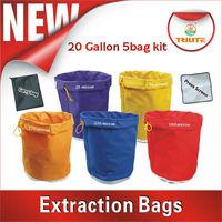 Extraction bag/hash bag/Filter bag 20 gallon set of 5 bags