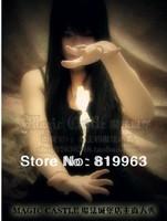 Free shipping!Floating Rose,rose floating,Close-up,fire magic,stage magic,magic tricks,romantic magic