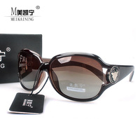 wholesale Free shipping 2013  brand designer anti-uv radiation women's  fashion polarized big frame (oculos de sol )sunglasses