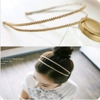 Hair accessory double layer ubiquitous1 2012 brief hair bands headband hair accessory hair pin