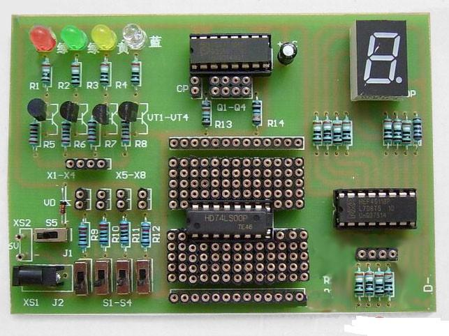 Electronic 2014 new Homemade digital board kit electronic kit spare parts(China (Mainland))