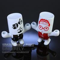 Ceramic bathroom  set cartoon lovers sanitary ware kit