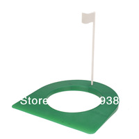 """Free Shipping Golf Regulation Size Rubber Putting Cup 4 1/4"""" Hole with Flag"""