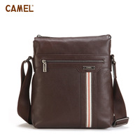 Camel camel casual man bag cowhide messenger bag mb018110