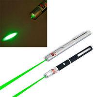 5mW Green HIGH POWER BEAM Laser Pointer Black Pen SALE