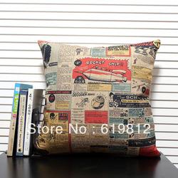Aliexpress.com : Buy Fashion vintage nostalgic pillow cartoon ...