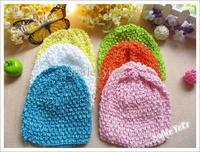 2013  U-Pick 500pcs Baby Crochet Hat Beanie Spriing Autumn Headwear Kid's Girl's Head Accessory