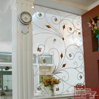 Fashion fashion iron screen partition entranceway decoration wall muons