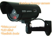 Outdoor indoor  Fake Dummy Security Cameras Camera Bullet LED BLINKS Camera Free Shipping