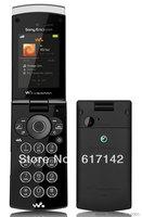 Original&Unlocked Sony Ericsson W980i Cellphone 3G Flip/keyboard  MP3/Vedio player refurbished phone