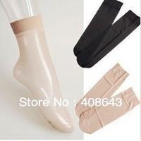 Free shipping  Fashion Womens Nylon Silk Stockings / Short Socks
