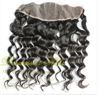 "New Arrivals! 12"" Middle Parting Body Wave Natural Black Color 100% Brazilian Virgin Human Hair Silk Top Frontals Lace Closure"
