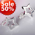 Wholesale Jewelry 925 Silver Earring.High Quality,Fashion/Classic Jewelry,Nickle Free,Free Shipping Lost Money Promotion LTE032